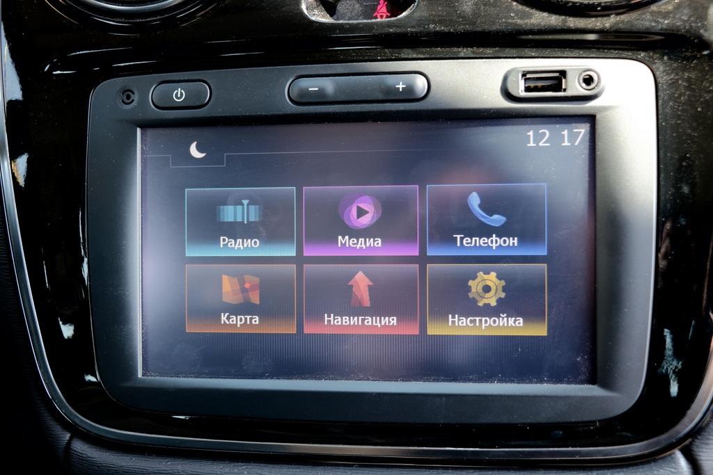 Renault Dokker мультимедиа фото