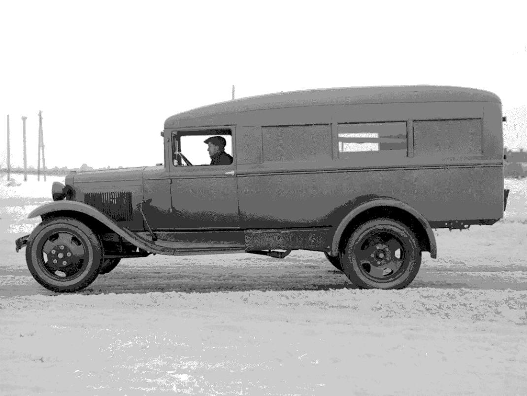 ГАЗ-55 фото