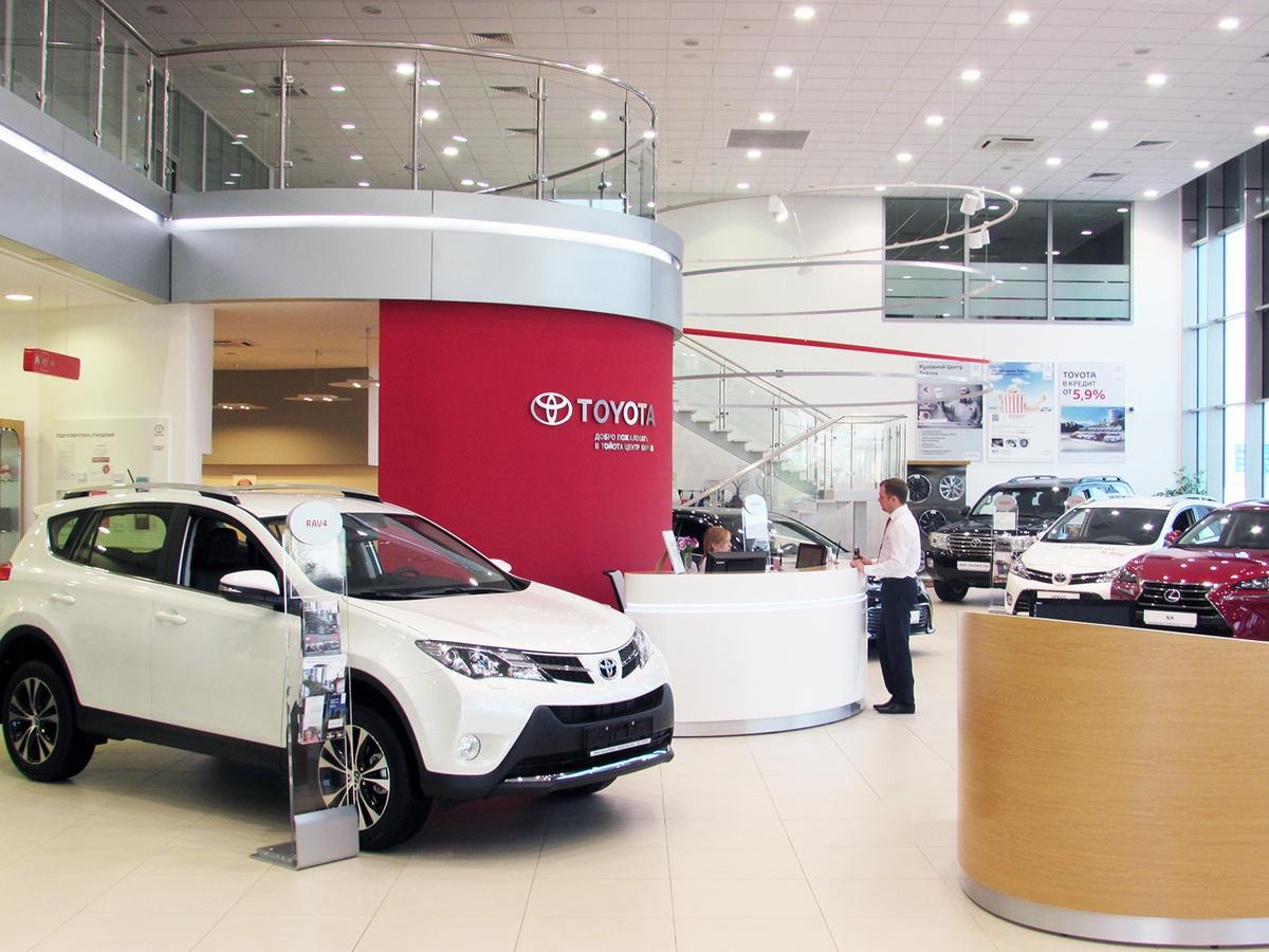Тойота В Магазине Цена