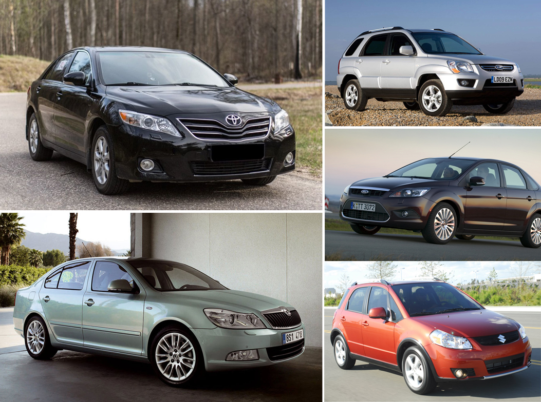 Лучшие подержанные автомобили