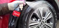 Рабочие способы зачернить шины авто с помощью подручных средств