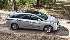Hyundai i40 Wagon: Практичность плюс комфорт